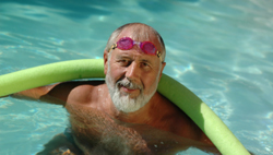 Erotic swimmiing lesson video